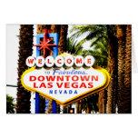 Recepción a la muestra de Las Vegas Tarjeta