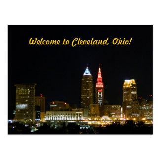 Recepción a la postal de Cleveland (noche)