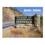 ¡Recepción a la postal de Kernville!