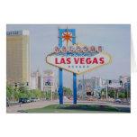 Recepción a la tarjeta fabulosa de Las Vegas