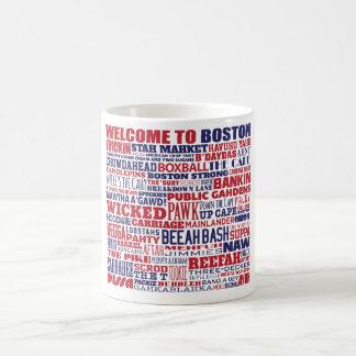 Recepción a la taza de Boston Wordle
