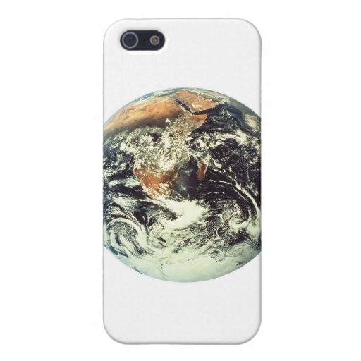 recepción a la tierra del planeta iPhone 5 cárcasas