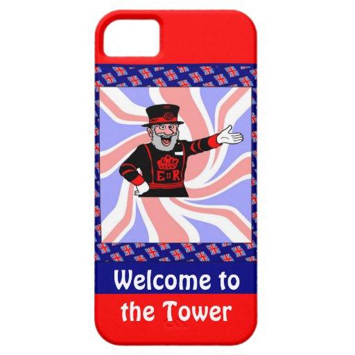 Recepción a la torre funda para iPhone SE/5/5s