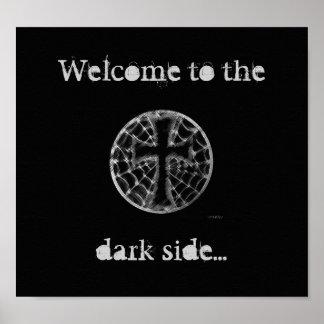 Recepción a, lado oscuro… póster
