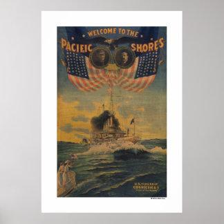 Recepción a las orillas pacíficas. FlagshipConnect Poster