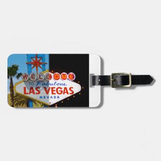 Recepción a Las Vegas - etiqueta del equipaje Etiquetas Para Equipaje