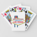 Recepción a Las Vegas fabuloso Baraja Cartas De Poker