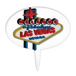 Recepción a Las Vegas fabuloso Decoración De Tarta