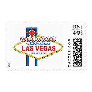 Recepción a Las Vegas fabuloso Estampilla