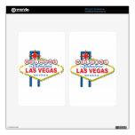 Recepción a Las Vegas fabuloso Kindle Fire Skins