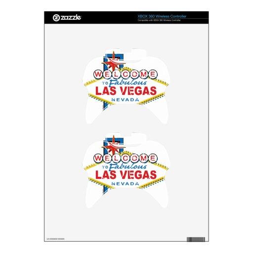 Recepción a Las Vegas fabuloso Mando Xbox 360 Skin