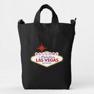 Recepción a Las Vegas fabuloso, Nevada Bolsa De Lona Duck