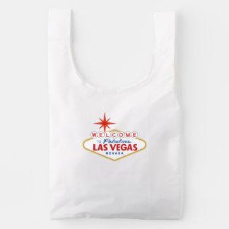 Recepción a Las Vegas fabuloso, Nevada Bolsa Reutilizable