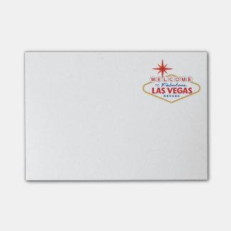 Recepción a Las Vegas fabuloso, Nevada Post-it® Nota