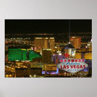 Recepción a Las Vegas fabuloso, Nevada Póster