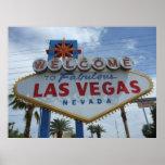 Recepción a Las Vegas fabuloso, Nevada Poster