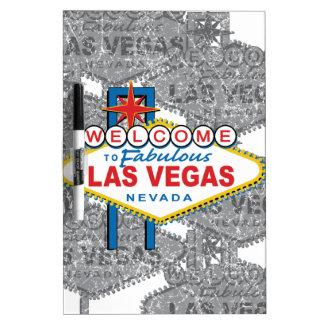 Recepción a Las Vegas fabuloso Pizarra Blanca