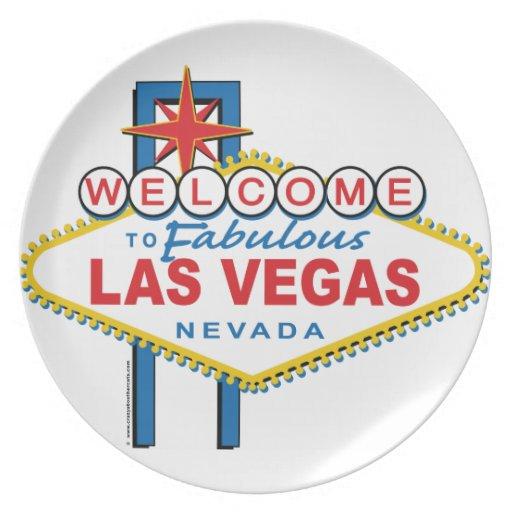 Recepción a Las Vegas fabuloso Platos