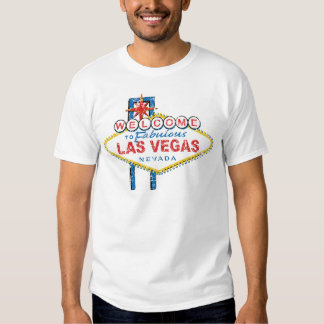 Recepción a Las Vegas fabuloso Playera
