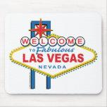 Recepción a Las Vegas fabuloso Tapetes De Ratón