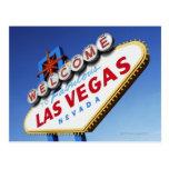Recepción a Las Vegas fabuloso Tarjeta Postal