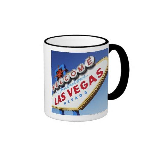 Recepción a Las Vegas fabuloso Taza A Dos Colores