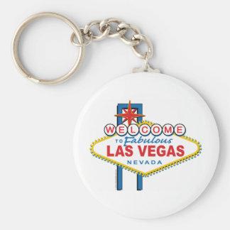 Recepción-a-Las-Vegas Llavero Redondo Tipo Pin