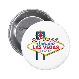 Recepción-a-Las-Vegas Pin Redondo De 2 Pulgadas