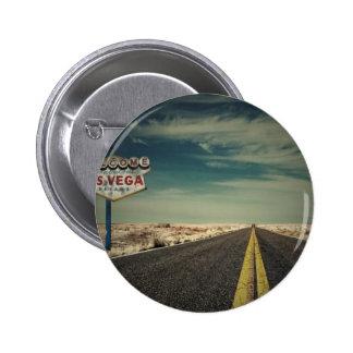 Recepción a Las Vegas Pin Redondo De 2 Pulgadas