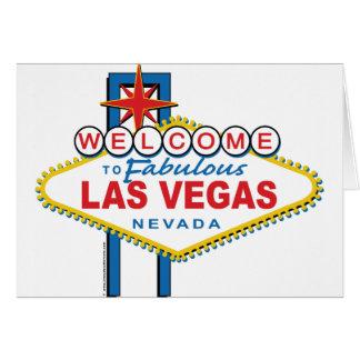 Recepción-a-Las-Vegas Tarjeta De Felicitación