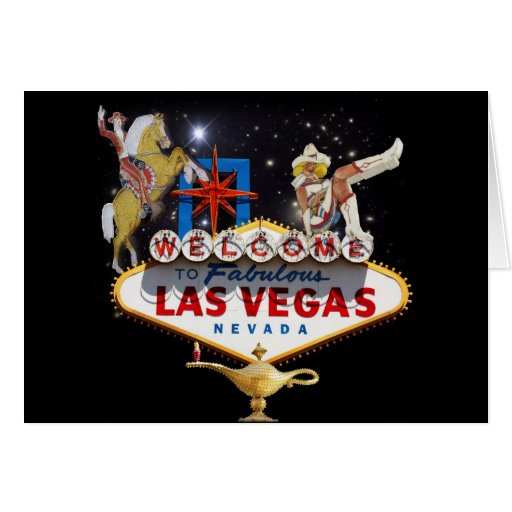 Recepción a Las Vegas Tarjeta De Felicitación