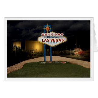 Recepción a Las Vegas Tarjeta Pequeña