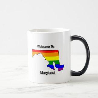 Recepción a Maryland gay Taza