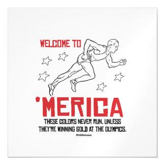 Recepción a Merica - estos colores nunca corren