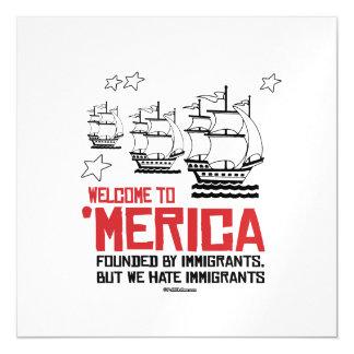 Recepción a Merica - fundado por los inmigrantes