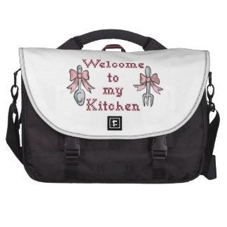 Recepción a mi cocina bolsas de portatil