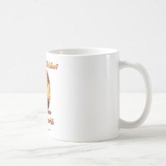 Recepción a mi mundo taza de café