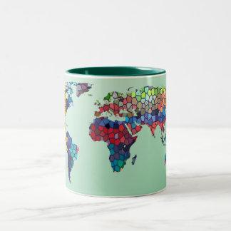 Recepción a mi taza del verde del mundo