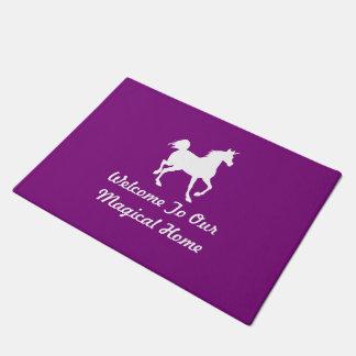 Recepción a nuestro hogar mágico - unicornio felpudo