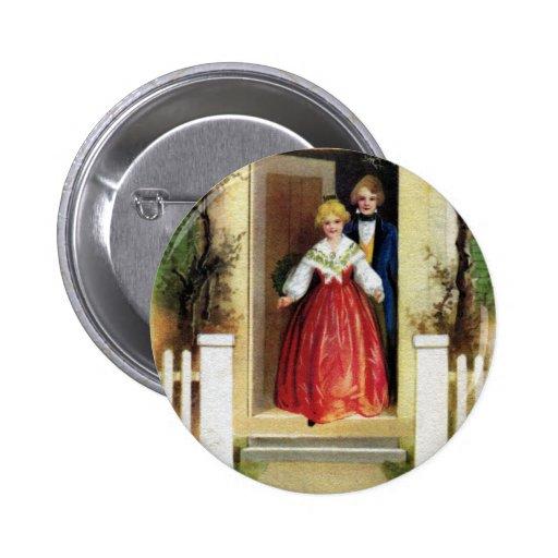 Recepción a nuestro navidad casero del vintage pin