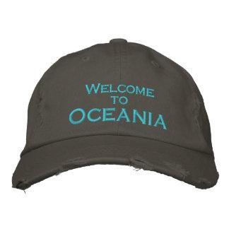 Recepción a Oceanía Gorra Bordada