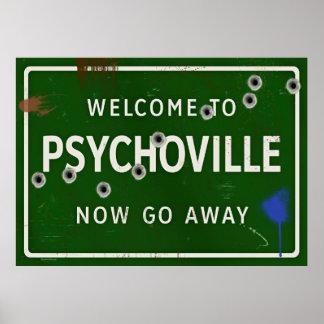 Recepción a Psychoville Póster