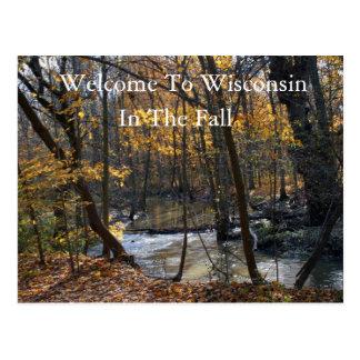 Recepción a Wisconsin en la caída Postal