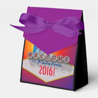¡Recepción al Año Nuevo fabuloso! Cajas Para Detalles De Boda