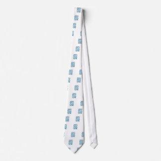 Recepción al bebé del mundo corbata personalizada