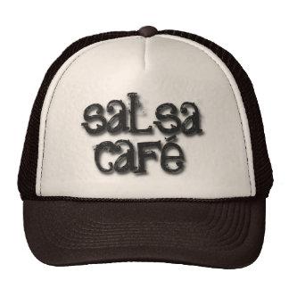 Recepción al café de la salsa gorras de camionero