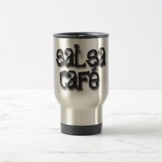 Recepción al café de la salsa taza