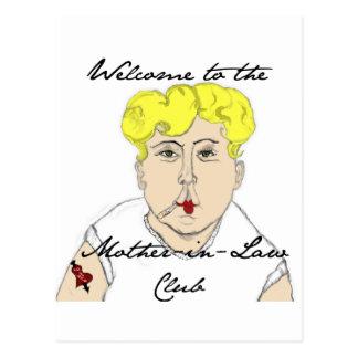 Recepción al club de la suegra tarjetas postales