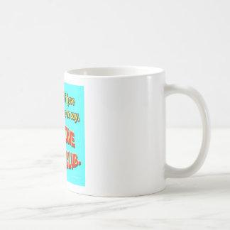 Recepción al club taza de café