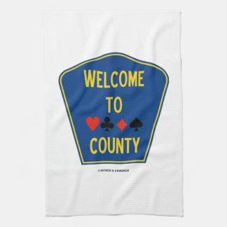 Recepción (al condado del puente de cuatro juegos toalla